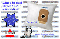 Bissell High Filtration Vacuum Bags Model PurePro BS32N3F Menalux Part No 6002