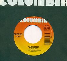 "WARRANT - I Saw rouge / acoustique Version 7 "" 1990 FLC Columbia Single (s8932)"