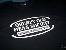 GRUMPY OLD MENS SOCIETY TSHIRT  all sizes BIRTHDAY GIFT