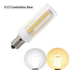 E12 Candelabra Base LED bulb C7 7W 110V Dimmable Lamp 102-2835SMD Ceramics Light