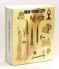 NEW YORK CITY EMBOSSED PHOTO ALBUM 100 PHOTOS/ 4x6