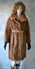 Vintage Genuine HONEY BLONDE MINK FUR COAT, size M