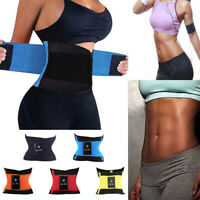 New Waist Trimmer Belt Sweat Wrap Tummy Stomach Weight Loss Fat Burner Slimming