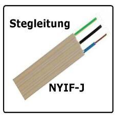 Stegleitung  NYIF-J 3x1,5 , 50m