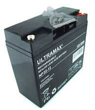 ULTRAMAX 12V 22Ah (replaces 17ah 18ah 20Ah) BOOSTER PACK Rechargeable Battery