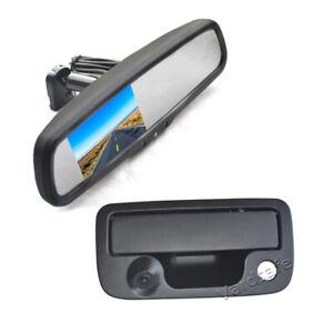Parking Reverse Camera & Rear View Mirror Monitor for VW Volkswagen Amarok