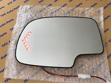 Heated Drivers Side Mirror Glass with Turn Signal Silverado Tahoe Escalade 03-06