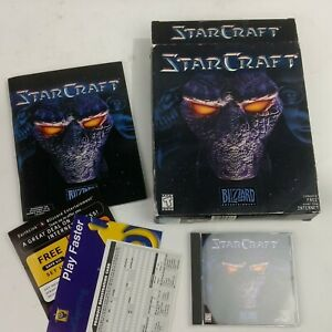 Starcraft (1998) Original Classic PC Box Set