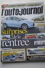 AUTO JOURNAL 781 RCZ C3 A5 X1 JAGUAR XJ FIAT 500 3008 GOLF C3 PICASSO MODUS 2009