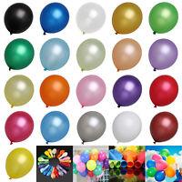 "25 - 100 PCS Birthday Wedding Baby Shower Party Pearl Latex Balloons 12"" baloons"