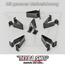 10x soporte de metal paréntesis borna madre AUDI VW SEAT SKODA