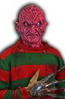 Freddy Krueger Freddy vs Jason Demon spfx Silicone Mask Nightmare Halloween