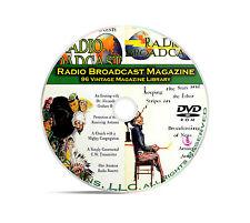 Radio Broadcast Magazine, 96 Classic Old Time Radio OTR Magazines Series DVD B91