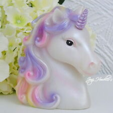 More details for unicorn lamp night light ornament figurine kids bedroom decor magical myth gift