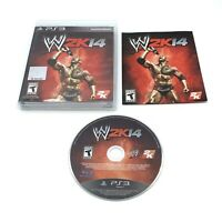 WWE 2K14 (Sony PlayStation 3, PS3) W/The Rock  CIB Complete With Manual