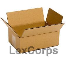25 Qty 8x6x4 Shipping Boxes, Standard