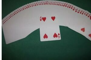 BICYCLE FORCING DECK. ONE WAY FORCE. GAFF DECK. ALL THE SAME CARDS. MAGIC TRICKS