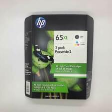 HP 65XL Combo Set Black & Color Ink Cartridges in Retail Box OEM Genuine 5/2020