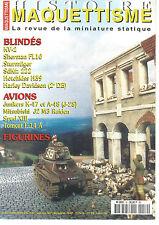 HISTOIRE&MAQUETTISME N°52 KV-2 / SHERMAN FL10 / STURMIGER / JUNKERS K-47 / SDKFZ
