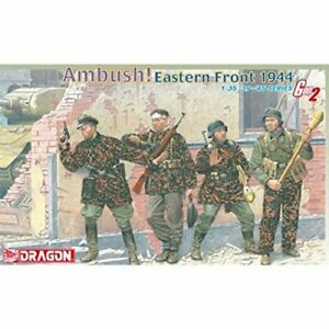 Dragon 6333 Ambush! Eastern Front 1944 WWII German Soldiers model kit 1/35