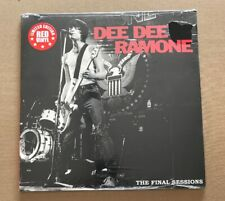 DEE DEE RAMONE! THE FINAL SESSIONS!! ORG LTD EDITION RED VINYL SEALED 1ST PRESS