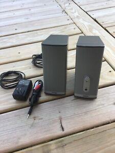 Bose Companion 2 Series II Multimedia Speaker System w/ Power Adapter & AV Cable