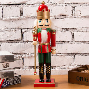 Wooden Soldiers Nutcracker Christmas Drummer Walnut Ornaments Home Decor Toys
