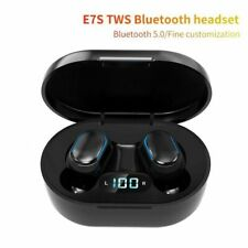 Earphone Wireless Stereo In-ear Earbuds Bluetooth Waterproof Sport Headset LED