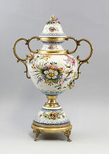 Prunkvolle Amphoren Vase mit vergoldeter Metallmontierung Carpie 99845211