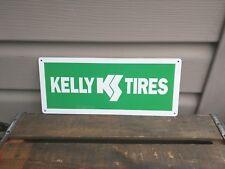 """Kelly Tires advertising Metal Sign garage mechanic Shop 5X12"""" 50145"""