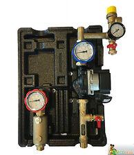 2-Strang Solarstation Hocheffizienzpumpe UPM 3 Solar  Solarpumpe Pumpengrupp