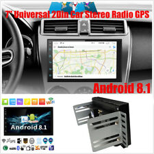 """7"""" GPS navigation Android 8.1 Double 2DIN Car Auto Stereo Radio WIFI Bluetooth"""