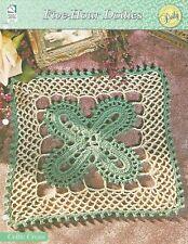 Celtic Cross Square Doily Crochet Pattern - Five-Hour Doilies HOWB Series