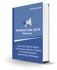 FACEBOOK ADS 2019 - How To Get Great Results With Social Media Marketing  (CD)