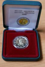 2 euro-bélgica - 2009 - 200. cumpleaños de Louis Braille-estuche-pp