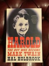 Harold The Boy Who Became Mark Twain by Hal Holbrook Signed 1st Edition in Wraps