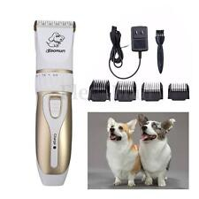 Electric Low-noise Animal Pet Dog Cat Hair Razor Grooming Trimmer Shaver Clipper