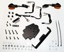 GSX-S1000 TARGA Fender Eliminator Tail Kit + Signals + Led Tag + Aluminum Panel