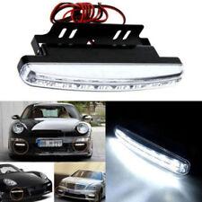 2Pc Bright 8 LED Daytime Driving Running Auto Car Light Bulb DRL Fog Lamp DC 12V
