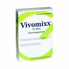 Vivomixx 112 Billion Highly Concentrated Probiotic Food Supplement - 10 Capsules