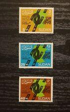 Sudan Stamps Set 🇸🇩,1986 April 6 uprising 1st Anniversary .Sc# 347 349
