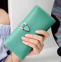 Women Leather Wallet Coin Purse Card Holder Lady Clutch Bag Female Long Wallet