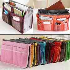 Travel Purse Gadget MakeUp Cosmetic Toiletry Kit Bag Organizer (Maroon)