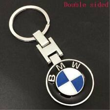 Metal Car double side Logo keyring key chain pendant Key Holder for BMW