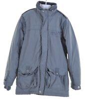 TIMBERLAND Boys Jacket 11-12 Years Grey Cotton