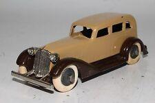 Tootsietoy 1930's Graham Sedan, Brown & Tan, Restored
