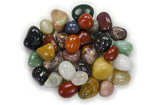 """3 lbs Wholesale Tumbled Mixed Agates - 1"""" Large - Crystal Healing, Reiki, Wicca"""