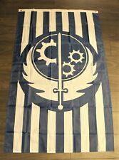 California Republic Fallout Flag Banner Brotherhood of Steel State Blue 3x5 New