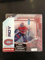 McFarlane NHL Series 5 PATRICK ROY Montreal Canadiens Chase Variant Figure