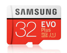 Samsung EVO Plus 32GB 32G micro SD micro SDHC Flash Memory Card 95MBs Class10 OA